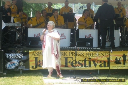 Rose Shargo at Asbury Park Jazz Festival 62511